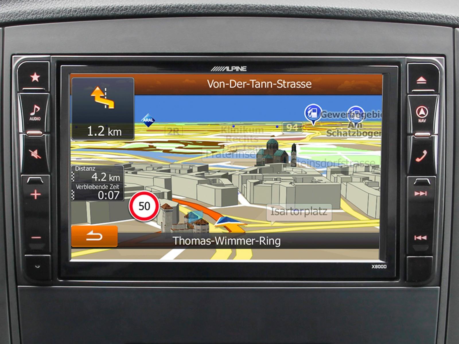 mercedes benz vito 447 alpine x800d v447 mise jour radars pour vos cartes t l charger mise. Black Bedroom Furniture Sets. Home Design Ideas